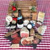 'Best of British' Luxury Award Winning Cheese & Charcuterie Gift Hamper Inc. Charcoal Cheddar, Salami, Crackers & Sparkling Wine