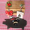 Black Charcoal Cheese & Cracker Hamper Inc. Mature, Spicy & Smoked Cheddar Cheeses