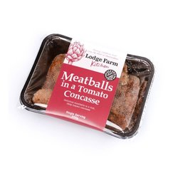 Gluten-Free Meatballs in Tomato Concasse Single Serving 350g