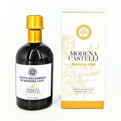 Gold Balsamic Vinegar of Modena 'Quercia Oro' 250ml