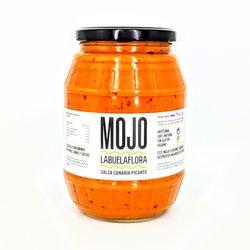 Spanish Mojo Red Pepper Hot Sauce 'Salsa Picante' 1 Litre