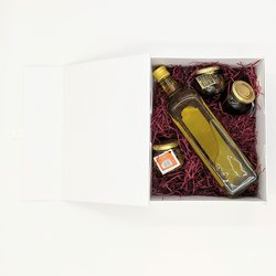 Truffle Collection Gift Box Inc. Truffle Oil & Sliced Truffles in Olive Oil