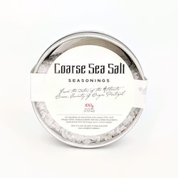 Coarse Sea Salt Tin 100g