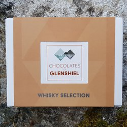 Mini Scottish Whisky Infused Chocolate Gift Box Inc. Talisker, Glenlivet & Aberlour Whisky (6 Pieces)