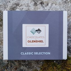 Mini Classic Scottish Infused Chocolate Gift Box Inc. Marmalade, Salted Caramel & Heather Honey (6 Pieces)