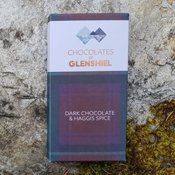 Haggis Spice Dark Chocolate Bar with Isle of Skye Sea Salt 70g