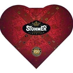 Chocolate Praline Gift Box Heart Shaped 128g