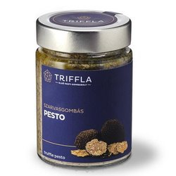 Black Truffle Pesto with Champignon & Porcini Mushrooms 150g
