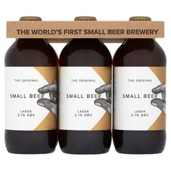12 x Small Beer Craft Lager 350ml 2.1% ABV