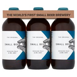12 x Small Beer Craft Session Pale Ale 350ml 2.5% ABV