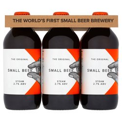 12 x Craft Small Beer Steam 350ml 2.7% ABV