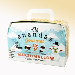 Vegan Marshmallow Selection Gift Box With Coconut, Caramel & Chocolate Coffee Marshmallows