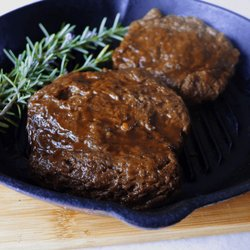 2 x Vegan Steaks - 12oz 'Chateaubriand' Style Steaks - Seitan Steaks