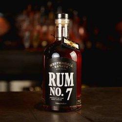 7 Year Aged Grenadian Dark Rum 'No.7' 700ml 40% ABV