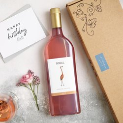 Letterbox Rosé Wine Gift Box (Vegan Friendly)