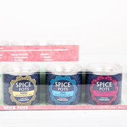 'Winter Curry' Gift Box - Indian Spice Blend & Winter Curry Recipes With Goan, Tandoori Masala & Korma Blends