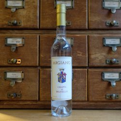 Italian Grappa Di Brunello 500ml 42% ABV