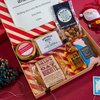 Christmas Letter Box Gift Hamper With Jura Single Malt Whisky, Nuts & Shortbread
