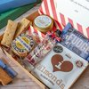 Best of British Letter Box Gift Hamper With Chase Vodka, Salted Caramel Fudge & Shortbread