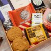 Nuts & Chocolate Letter Box Gift Hamper With Roasted Nuts, Oat Squares & Chocolate Bars