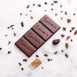 Vegan 72% Dark Chocolate Bar Madagascar 25g