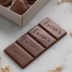 Vegan Milk Chocolate & Cashew Nut Bar 'Casholate' 25g