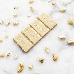 Vegan White Chocolate & Cashew Nut Bar 'Casholate' 25g