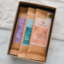 Single Origin Vegan Dark Chocolate Gift Set with 3 Vegan Chocolate Bars
