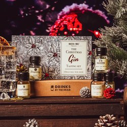 Christmas Gin Tasting Gift Set with Tanqueray, Pickering's & Masons Gins