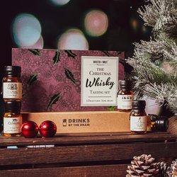 Christmas Whisky Tasting Gift Set with Glenfiddich, Nikka & Johnnie Walker