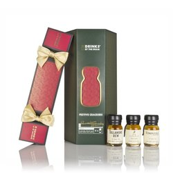 6 x Premium Whisky Christmas Crackers Inc. Lagavulin, Glenfarclas & Johnnie Walker