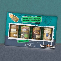 World Whisky Miniatures Gift Set with Irish Whiskey & American Whiskey by That Boutique-y Whisky Company
