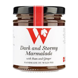Spiced Rum Marmalade 'Dark & Stormy' with Dark Matter Rum 235g