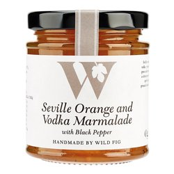 Vodka Marmalade With Seville Orange, Ogilvy Potato Vodka & Black Pepper 235g