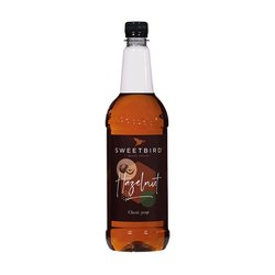 Hazelnut Syrup 1 Litre (For Coffee & Hot Drinks)