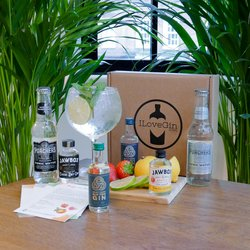 Irish Gin & Tonic Gift Set - Northern Irish Jawbox Flavoured & Boatyard Gin Miniatures