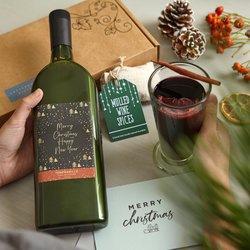 Letterbox Mulled Wine Gift Box (Vegan Friendly)