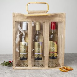 Hungarian Honey Wine Gift Set - With Jute Bag & 3 Flavoured Honey Wines