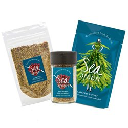 Seaweed Set - Award Winning Seaweed Seasoning Blend & Seaweed Boost Shaker