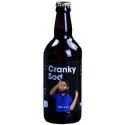 Cranky Sod Bitter by Comedy Beers (500ml, 4.2% ABV)