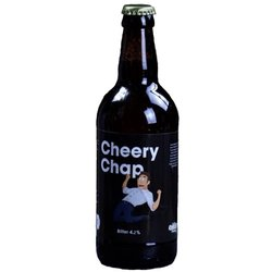 Cheery Chap Bitter by Comedy Beers (500ml, 4.2% ABV)