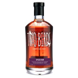 Two Birds Spiced Rum 70cl 37.5% ABV