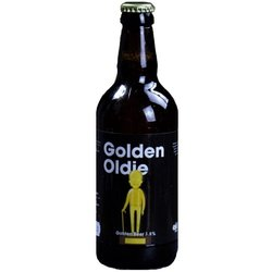 Golden Oldie Golden Beer by Comedy Beers (500ml, 3.8% ABV)