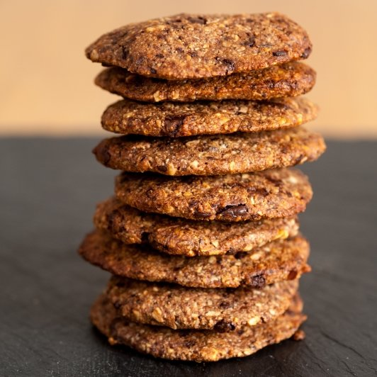 Vegan & Wheat-Free Superfood Cookie Mix with Belgian Chocolate 2 x 422g