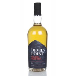 Devil's Point Golden Aged Rum (70cl, 38%)