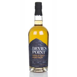 Devil's Point Single Cask Aged Rum - Virgin Oak (70cl, 58%)