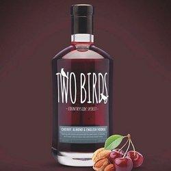 Two Birds Cherry & Almond Vodka (70cl, 29% ABV)