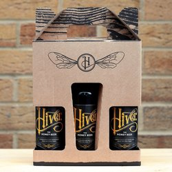 Hiver Beer Variety Gift Set - Includes 2 Honey Beers & 1 Honey Ale