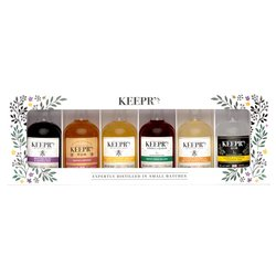 Keepr's Honey Gin, Rum & Vodka Gift Set (Includes 6 5cl Bottles)