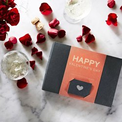 'Happy Valentines' Raw Chocolate Gift Box by Pana Chocolate